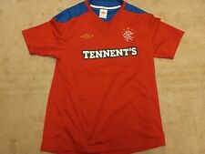 Glasgow Rangers Football Shirt Large Mens