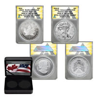 2019 Pride of Two Nations RCM Release 2 coin Silver set PR70