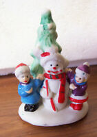 Collectibles Christmas Village Figurines/Accessories 3 Sets for Xmas Village A-1