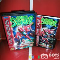 Grind Stormer Game Cartridge for SEGA Genesis Complete Boxed Manual USA NTSC-U/C