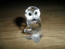 "Cristal de Swarovski 'Búho en árbol, ojos verdes ""retirar en Caja, ART7621"