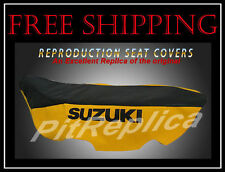 SUZUKI RM125 RM250 W/X 1998 - 1999 SEAT COVER [SSORP]