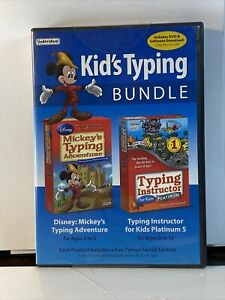 Mickey Mouse Kid's Typing Bundle - Individual Software,