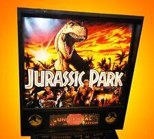 Update Pinball Flipper Jurassic Park data east pinball