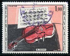 STAMP / TIMBRE FRANCE OBLITERE N° 1459 TABLEAU ART / LE VIOLON DE DUFY