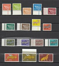 TIMBRE STAMP 16 IRLANDE Y&T#211-226 ART FAUNE ANIMAL NEUF**/MNH-MINT 1968 ~C72