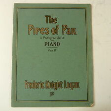 Musique de piano Frederic chevalier LOGAN les tuyaux de Pan Op. 27