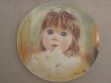 Fascination collector plate Frances Hook children