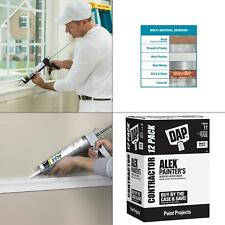alex 10.1 oz. painter's all-purpose acrylic latex caulk (12-pack)