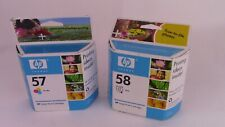 HP 57 and 58 Inkjet Print Cartridges NEW Expired Aug-2006