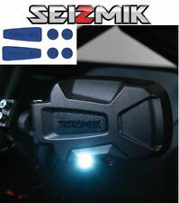 Blue Seizmik Pursuit Night Side Mirrors- 2003-2013 Yamaha Rhino 450 / 660 / 700