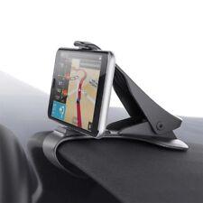Mobile Phone Stand Cradle Dashboard Car Holder Support GPS - BLACK