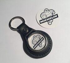 Michelin Genuine Leather Key Ring &  Michelin Sticker