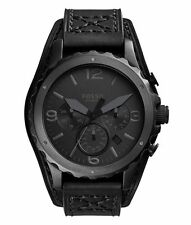 Fossil Sport Analog Mens Black Watch Jr1157 JR1510