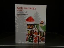 DEPT 56 SANTA'S NORTH POLE OFFICE 4036540 NORTH POLE CHRISTMAS VILLAGE LIGHT NIB