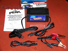 NEW PEAK 1.5amp 12v Trickle Automatic Battery Linear Charger Automotive Car Auto