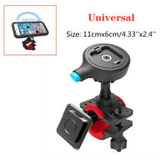 Mobile Phone Motorcycle Mount Holder Bracket Release Clip fit for iPhone Samsung