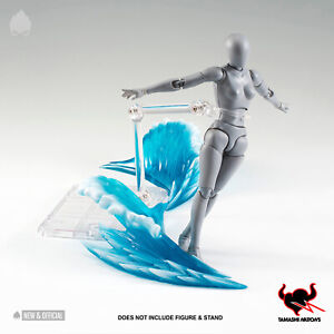 Tamashii Nations - Blue Wave Effect for A/Figures [IN STOCK] • NEW & OFFICIAL •