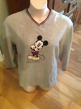MICKEY UNLIMITED By Jerry Leigh M MICKEY APPLIQUED Sweatshirt FREE SHIPPING