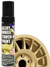 E-Tech Car Alloy Wheel Chip Kerbed Damaged Repair Touch Up Paint Pen Stick -GOLD