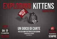 Exploding Kittens Edizione VM18, Il Gioco di Carte, Nuovo by Asmodée , in Ita