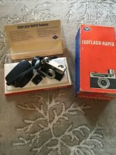 Vintage NOS Agfa Isoflash - Rapid Camera With Original Box