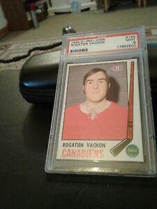 1969-70 opc # 165 Rogatien Vachon . Psa 9
