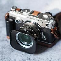 Square Metal Lens Hood Shade for Olympus M.ZUIKO Digital 17mm 1:1.8 f/1.8 Lens