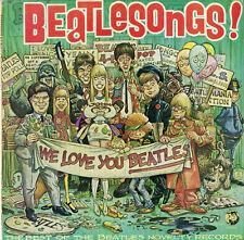 """BEATLESONGS"" Best of BEATLES novelty records (LP original US RHINO 803) MINT"