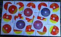 20 CDG KARAOKE LOT SET MOST REQUESTED 300+ SONGS SPANISH,OLDIES,ROCK,POP