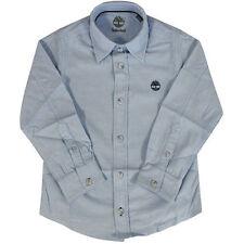 T-shirts, débardeurs et chemises bleu à manches longues pour garçon de 2 à 16 ans en 100% coton
