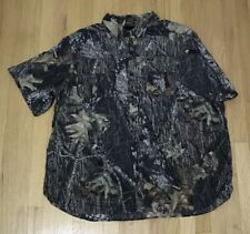 Guide Series Mens 2XL Camo Hunting Scent Shield Button Down Short Sleeve Vented