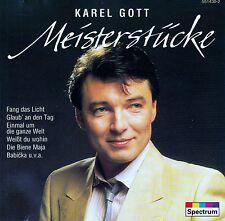 KAREL GOTT : MEISTERSTÜCKE / CD (SPECTRUM 551 430-2)