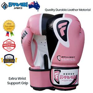 Farabi Boxing Gloves Sparring Training MMA Punching Bag Mitt Brilliant Series