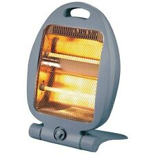 800W PORTABLE ELECTRIC HEATER QUARTZ HALOGEN ELECTRICAL FOR HOME OR OFFICE
