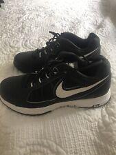 Mens Nike Vapor Ace Tennis Shoes Black & White Sz 9. Worn Once