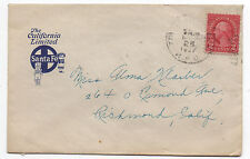 1927 Santa Fe Railroad California Limited Advertising Cover