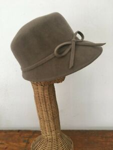 Eric Javits Bow Felt Fur Packable Hat NWT $275 Made in the U.S.A.