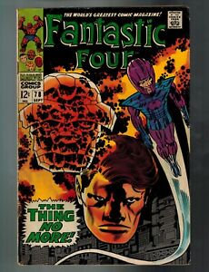 Fantastic Four 78 85 87 89 (Marvel) 4 Silver Age Books Stan Lee & Jack Kirby L2