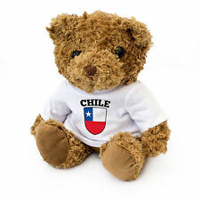 NEW - Chile Flag Teddy Bear - Chilean Fan Gift Present Birthday Xmas