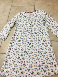 Mini Boden Floral Nightgown/pajamas, Girls Size 5-6 (116 CM)