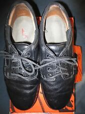 Red Wing Mens Black Leather Oxford Dress Work Shoes SIZE 9.5 w