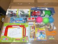 14x Auto LKW Traktor Traktor Flugzeug Tiere Malen Jungen Spielzeug Set Paket