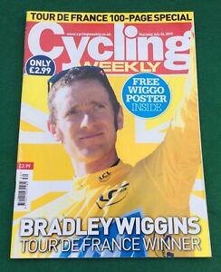 Cycling Weekly Tour De France 2012 Souvenir Special Bradley Wiggins  Incl Poster