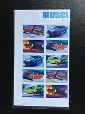 USStamps Sc# 4745-4747 Muscle Cars Forever Plate Block - MNH