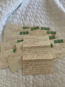 WWII LOVE LETTER LOT