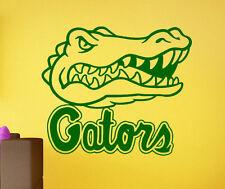 Florida Gators Wall Vinyl Decal Sticker Sport Home Decor NCAA Football Emblem