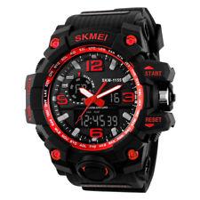 Wrist Watch for Man Waterproof Sport Big Face Military Army Digital Analog SKMEI