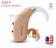 NEW SIEMENS LOTUS 12P/23P -FUN P Digital Hearing Aid 6 Channel Free Shipping