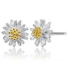 piccolo argento sterling Orecchini a fiore - Sacchetto regalo cg0705